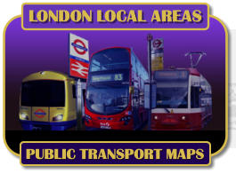 LONDON LOCAL AREAS PUBLIC TRANSPORT MAPS